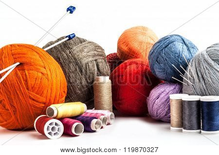 Tangles Multicolored Yarn And Thread