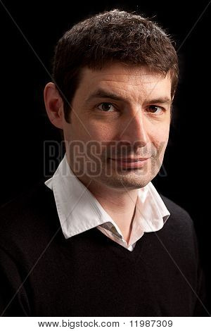Late Thirties Male Portrait