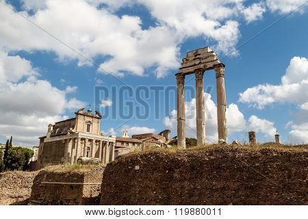 Archeological Roman Forum