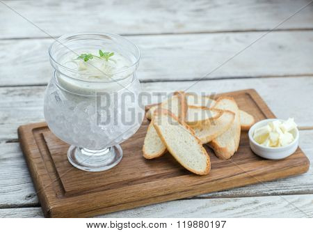 Pike Caviar In A Cottage Cheese Sauce