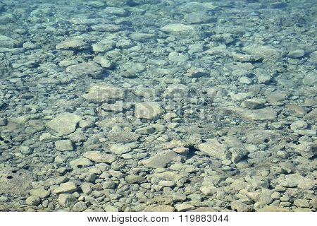 Clear Water In The Ionian Sea.