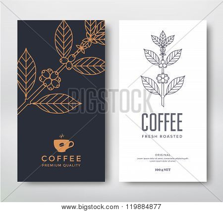 Packaging design coffee.
