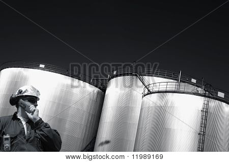 engineer and fuel tanks