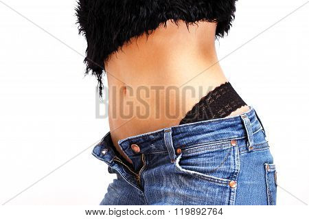 Sexy Ass Of A Woman In Jeans