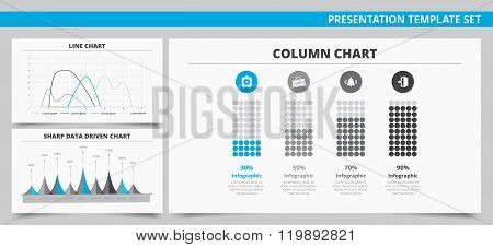 Presentation template set 8