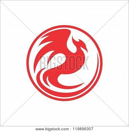 Phoenix red circle