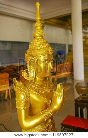 Golden Statue Of Budha
