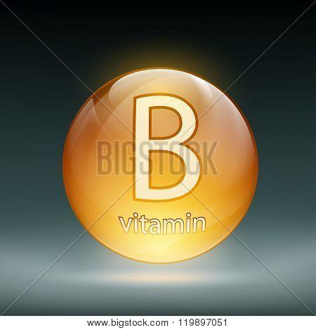 Icon Vector Vitamin