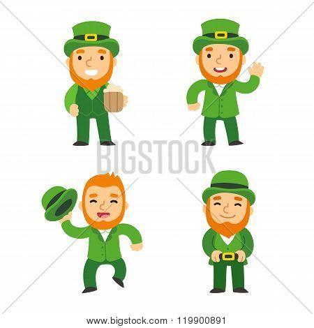 Saint Patricks Day Leprechauns