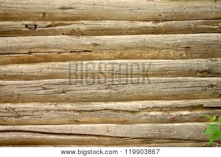 Fragment log walls
