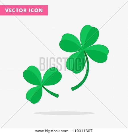 Trefoil and quatrefoil clover leaf