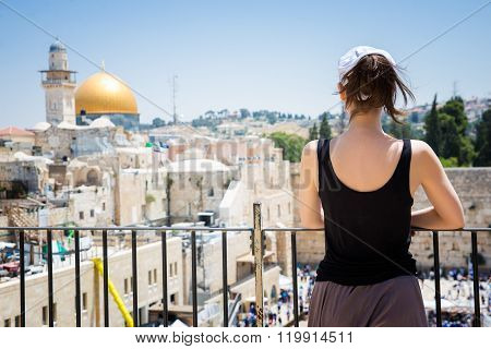 Wailing Wall in in Jerusalem