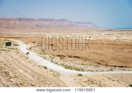 desert and mountains in Israel