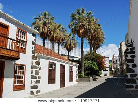 Los Llanos de Aridane - beautiful city on the island La Palma, Canary Islands, Spain