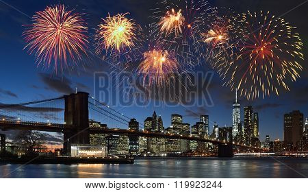 Fireworks Over Nyc.