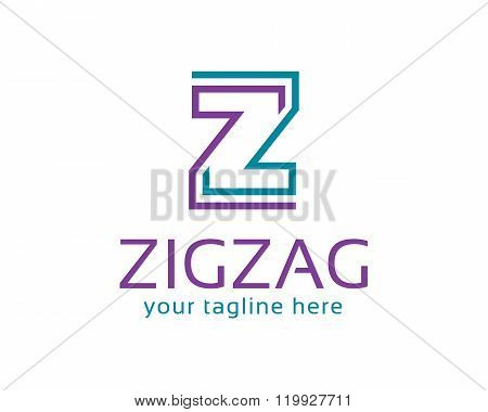 Business corporate letter Z logo design template. Simple and clean design of letter Z logo vector. Logo design for business and accounting.