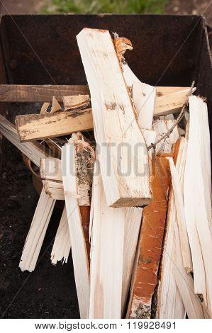 Firewoods For Preparation Of Shashlick