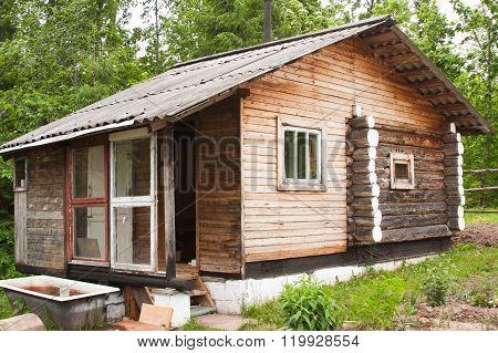 Wooden Bath-house