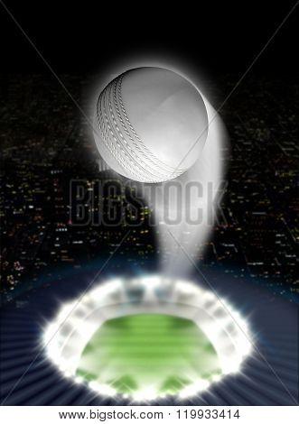 Stadium Night With Ball Swoosh