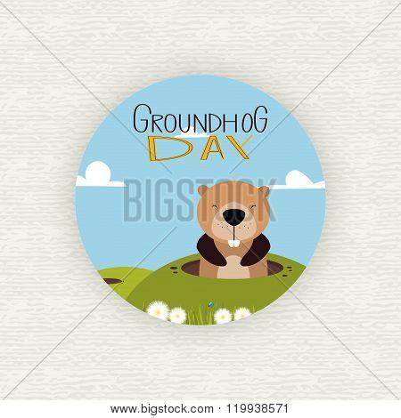 Groudhog day background