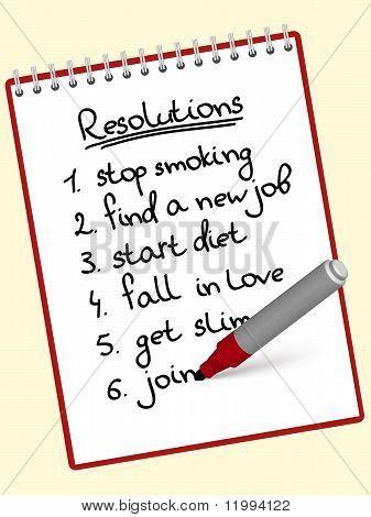 notepad resolutions