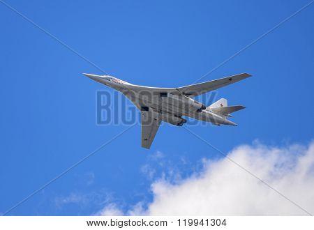 Samara, Russia, August 22: Tu-160