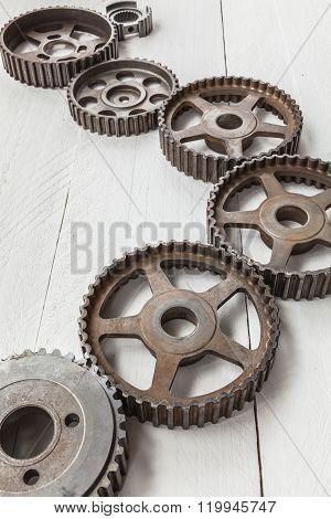 Industrial cogwheels