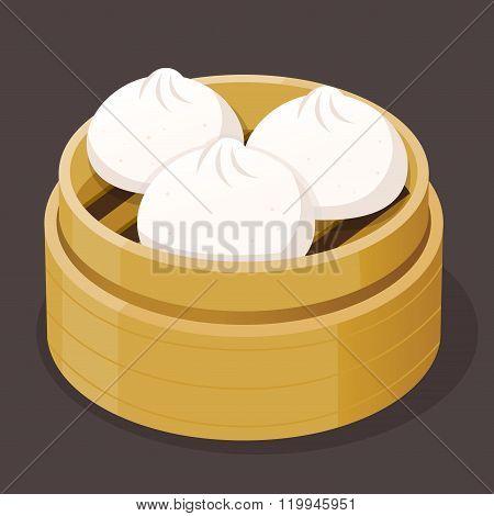 Steamed Bun Dim Sum