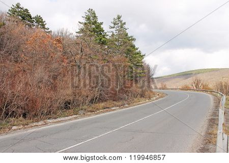 The Road With Sharp Turn
