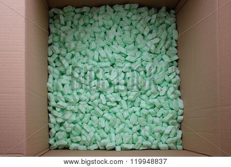 Packaging material in box