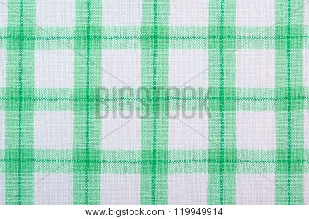 Colorful Tablecloth As Background
