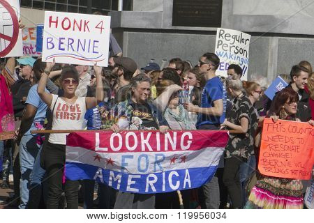 Bernie Sanders Supporters Seek Change