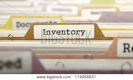Folder in Catalog Marked as Inventory.