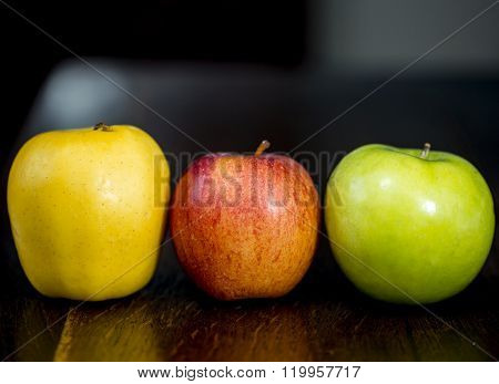 Trio Of Apples