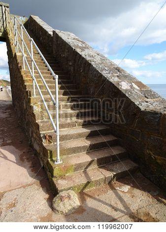 Pathway And Bridge Steps