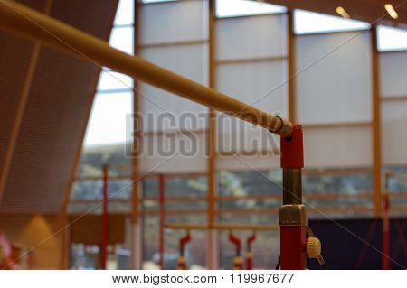 Gymnastic equipment in a gymnastic club in the Faroe Islands