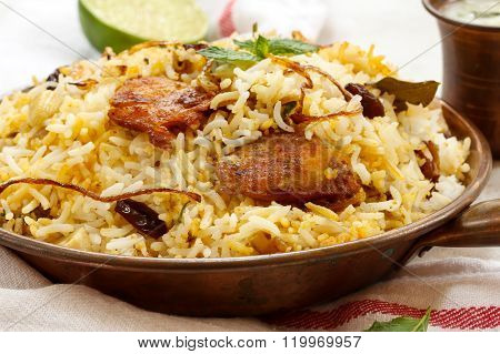 Fish Biryani Indian Style Fish And Rice With Spicy Masala