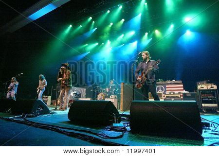 ATLANTIC CITY, NJ - AUGUST 29: The Black Crowes perform at The Borgata Hotel & Casino on August 29, 2009 in Atlantic City, NJ.