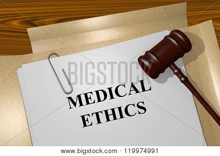 Medical Ethics Concept