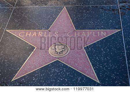 Charles Caplin Hollywood Star