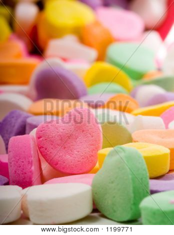 Blank Candy Heart