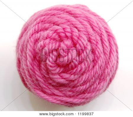 Pink Yarn Ball