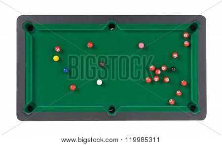 Miniature Billiard Table