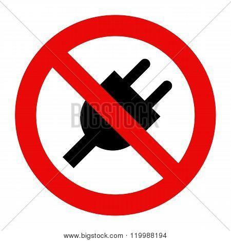 No Plug Icon