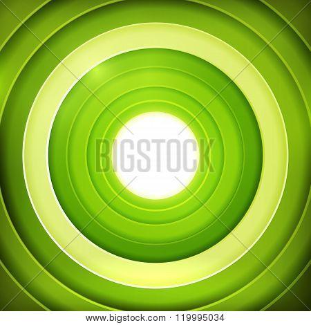 Green rings digital target