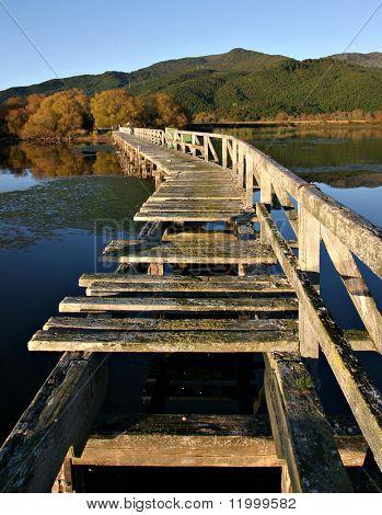 Derelict Pier, Lake Taupo, New Zealand