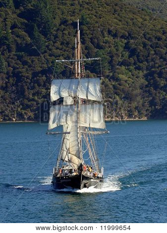 'The Spirit of New Zealand' in the Cook Strait