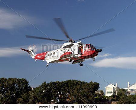 Sea Rescue Helicopter, Dorset