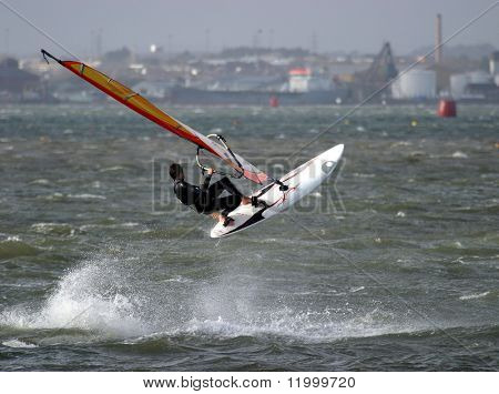Kite Surfer, Poole Harbour