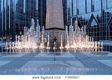 Fountain, Pittsburg